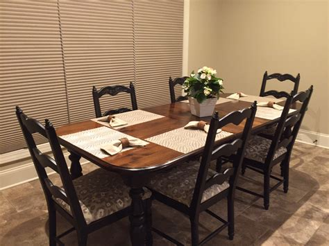 refinishing a dining table refinishing dining room furniture for new home just