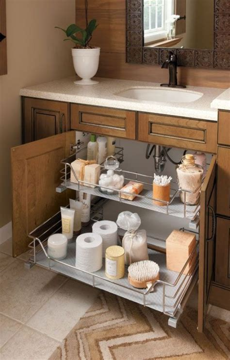 bathroom storage ideas sink diy clever storage ideas 15 bathroom organization and