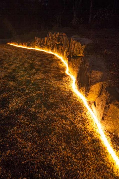 landscape rope lighting 3 borderline genius ways to use rope light in your