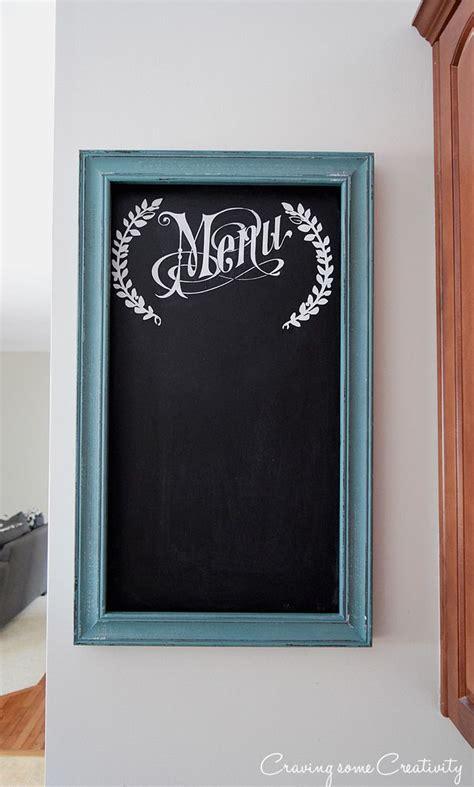 diy chalkboard for kitchen best 25 menu chalkboard ideas on