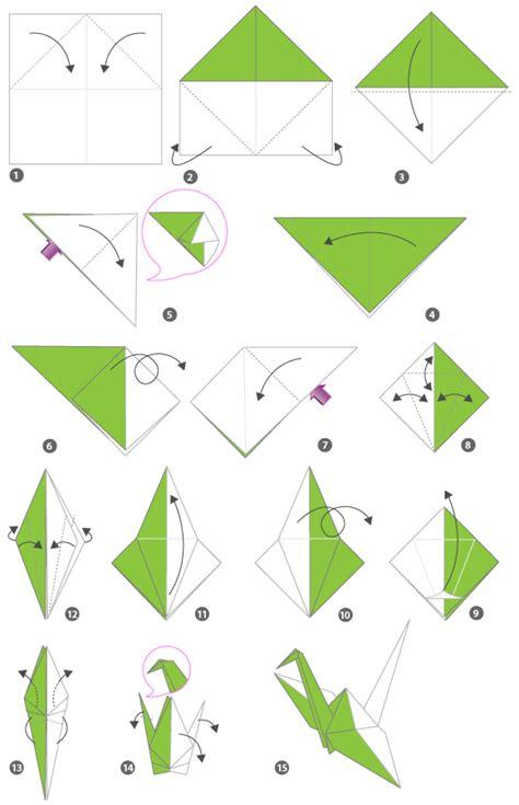 origami of origami of crane