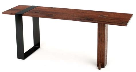 contemporary rustic sofa table modern wooden console table
