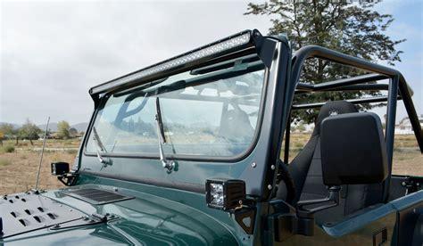 50 led light bar jeep poison spyder 45 12 r50 50 quot led light bar mount for 76 95