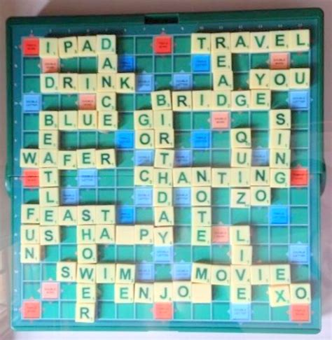 scrabble what words can i make diy personalised scrabble board the craftables