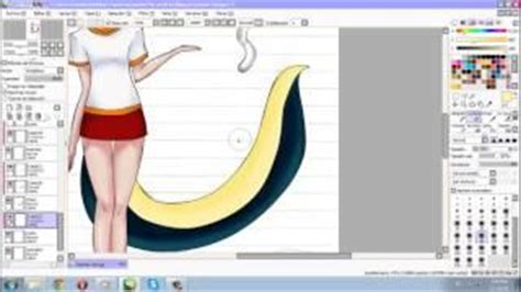 Como Desenhar No Paint Tool Sai O Mouse Tutorial
