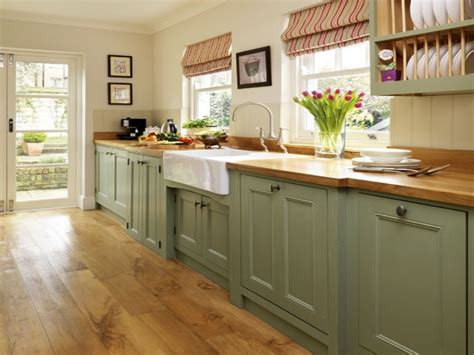 painted cabinets in kitchen country style dining room ideas green painted