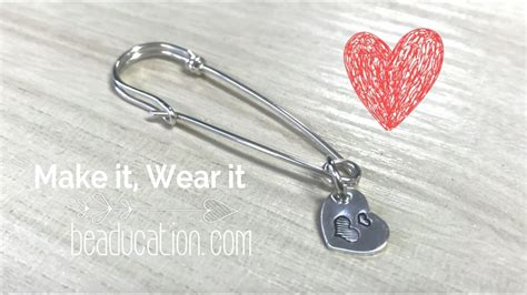 how to make safety pin jewelry how to make a wire safety pin tutorial diy jewelry e