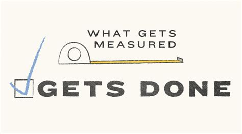how are measured what gets measured gets done the alcalde