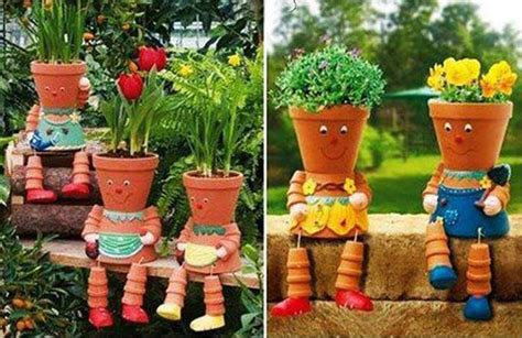 clay pot craft projects amazing creativity clay pot flower