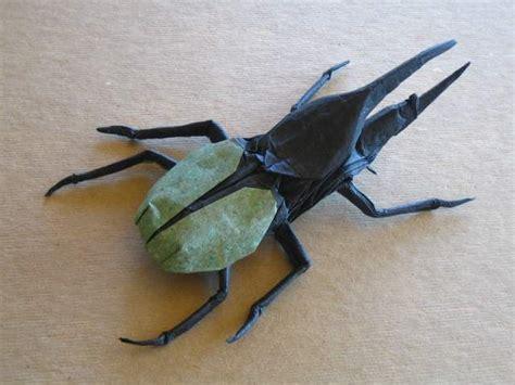 origami hercules beetle brian chan s origami gallery