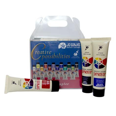 acrylic painting kit tartofraises jo sonja s professional quality acrylic paint kit