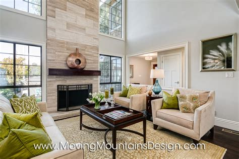 home staging living room luxury home staging moving mountains design los