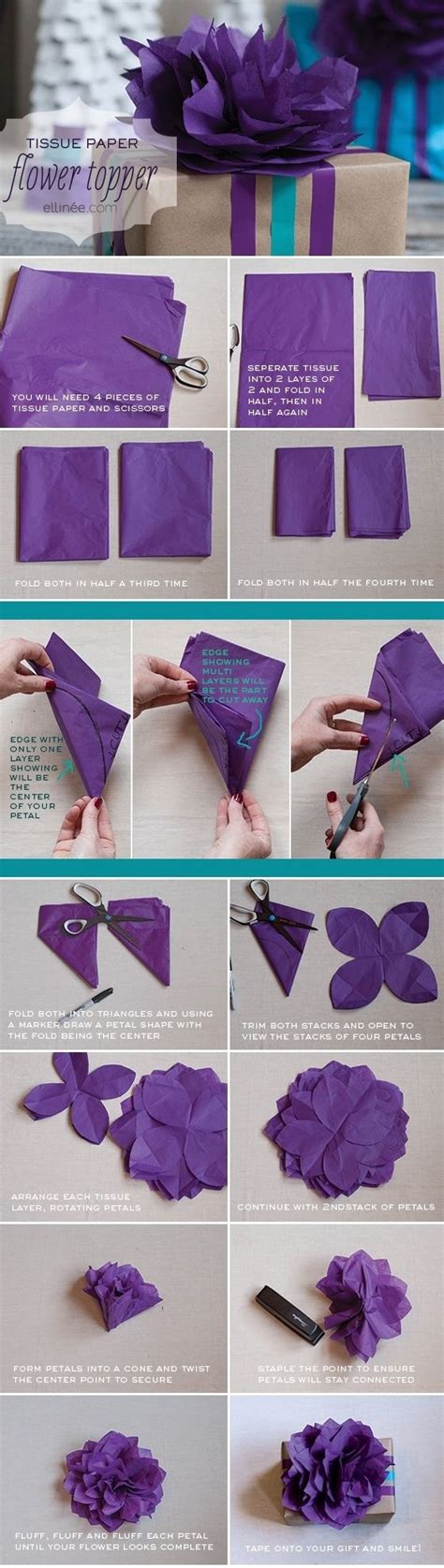 diy paper flower crafts diy tissue paper flower pictures photos and images for