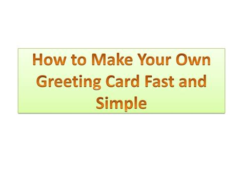 how to make a simple greeting card easy tips to makes romantics greeting card in simple way