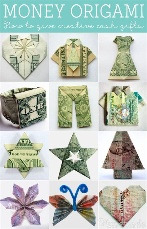 25 Best Ideas About Money Origami Tutorial On