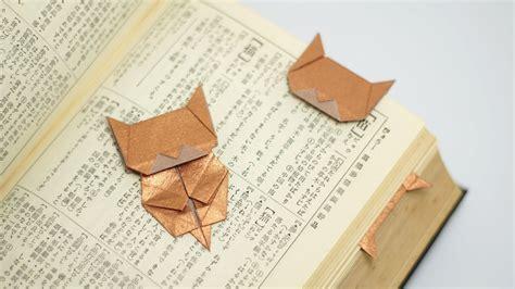 origami neko origami neko bookmark jo nakashima