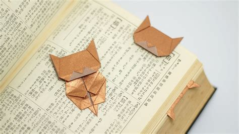 origami cat bookmark origami neko bookmark jo nakashima