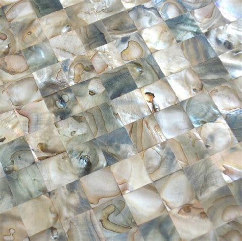 shell tile backsplash shell mosaic tiles backsplash mop091 of pearl tiles