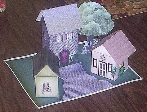 paper house craft paper crafts playsets dwellings furniture ammey s