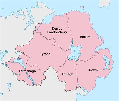 northern ireland counties of northern ireland familypedia