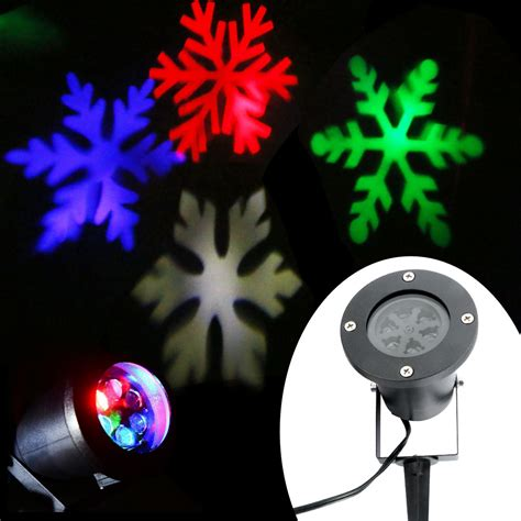 snowflake projector outdoor outdoor moving snowflake landscape laser projector l