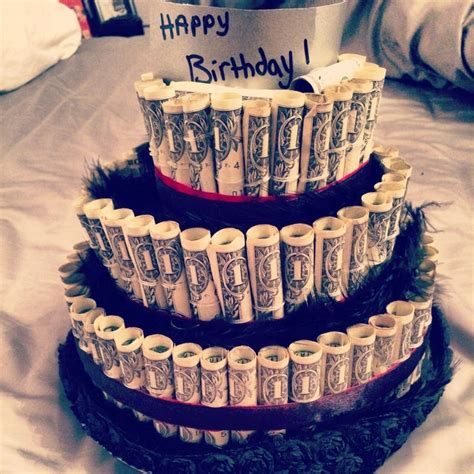 what are great gifts great birthday gifts for him or anyone money cake