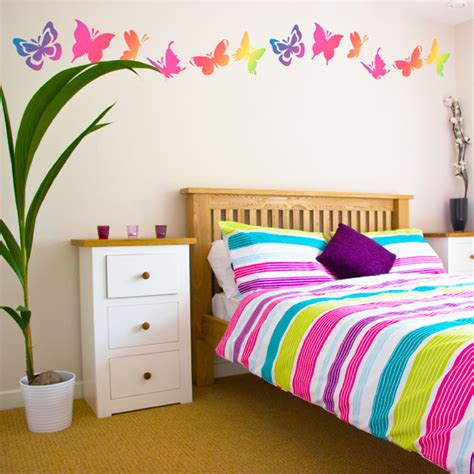 butterfly bedroom butterfly bedroom wall decal mural ideas for