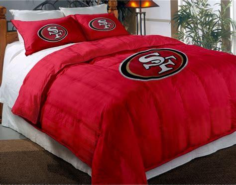 49ers comforter set san francisco 49ers nfl chenille embroidered