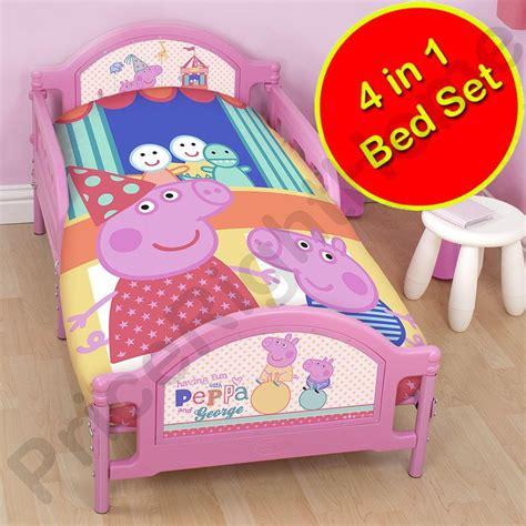 peppa pig bedroom furniture peppa pig funfair bedroom range duvet covers junior