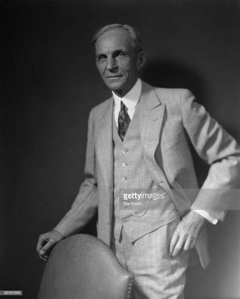 Henry Ford by Henry Ford Founder Of Ford Motor Company Getty Images