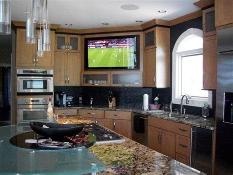 tv in kitchen ideas best 25 tv in kitchen ideas on traditional microwave ovens traditional wine cellar