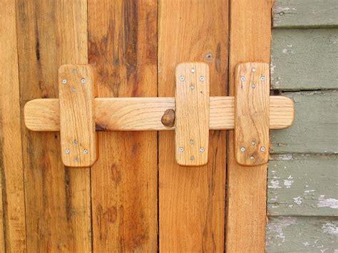 sliding barn door latches wooden gate latch renov8z
