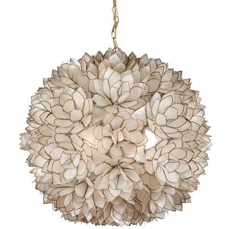 capiz shell chandelier globe capiz shell chandelier 1960s for sale at