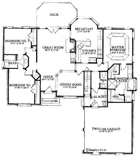 walkout floor plans house plans with basement rustic mountain house floor plan