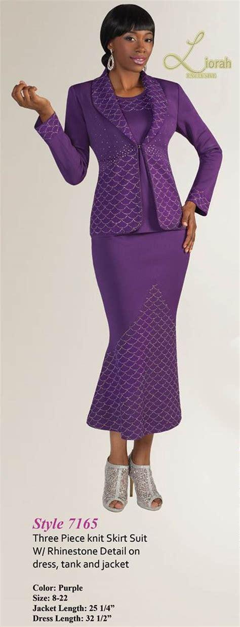 liorah knits liorah knits 7165 womens knit suits
