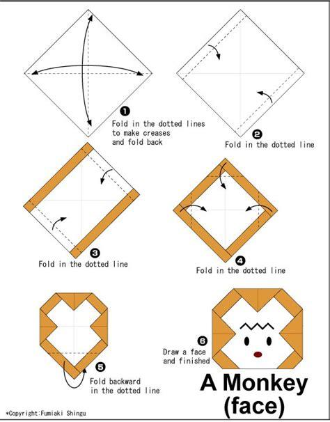 origami monkeys origami monkey 9 monkey kid origami