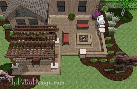 patio plans and designs patio designs with pergola woodworking projects plans