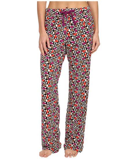 knit pajamas vera bradley knit pajama in blue lyst