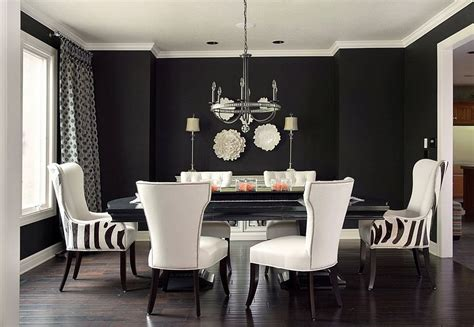 the dinning room how to use black to create a stunning refined dining room