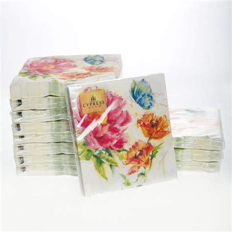 decoupage napkins wholesale aliexpress buy cocktail paper napkins 20pcs 25x25cm