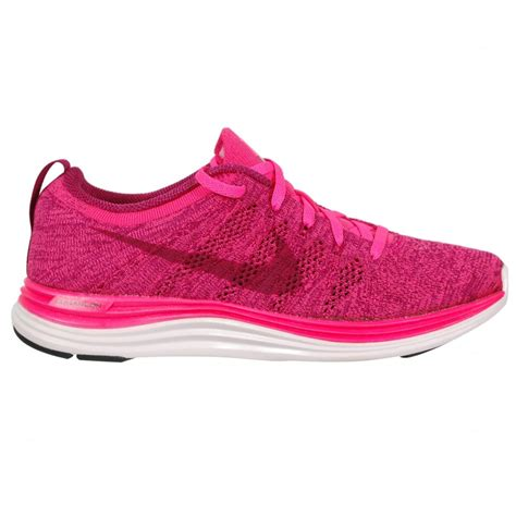 fly knit shoes nike flyknit lunar 1 s running shoe pink