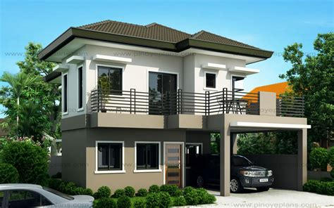 two storey house design and floor plan sheryl four bedroom two story house design