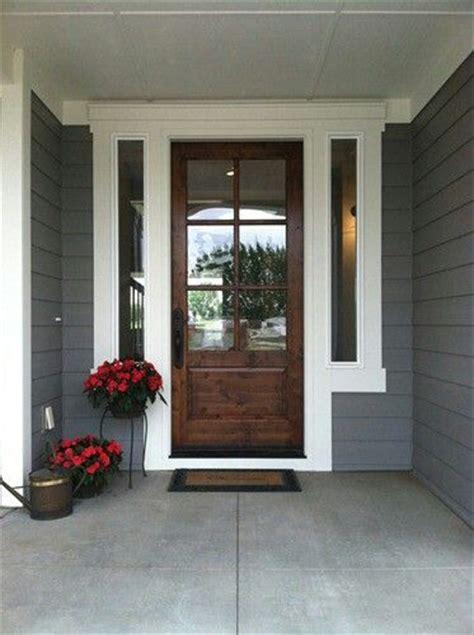 exterior house door paint colors exterior house color grey white wood door front doors