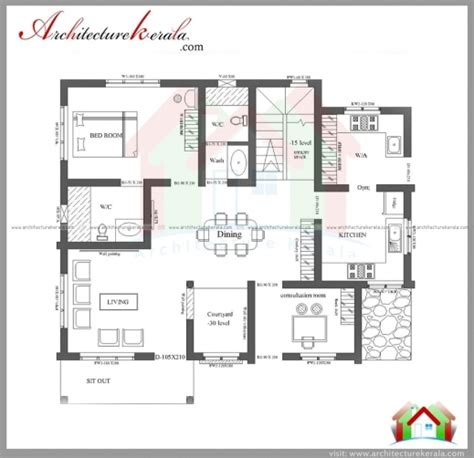 3 bedroom house plans in kerala stylish 3 bedroom house plans with photos in kerala arts 3