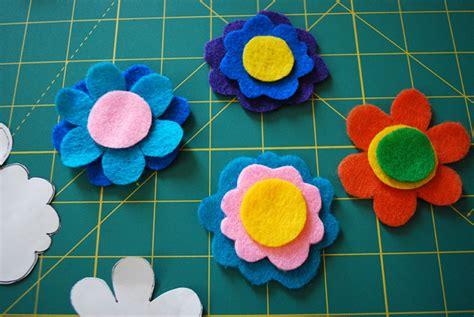 easy felt crafts for flower crafts for to make craftshady craftshady
