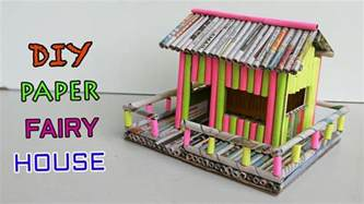what to make with how to make paper house newspaper crafts