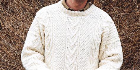 aran knitting patterns knit a real s classic free aran jumper knitting pattern