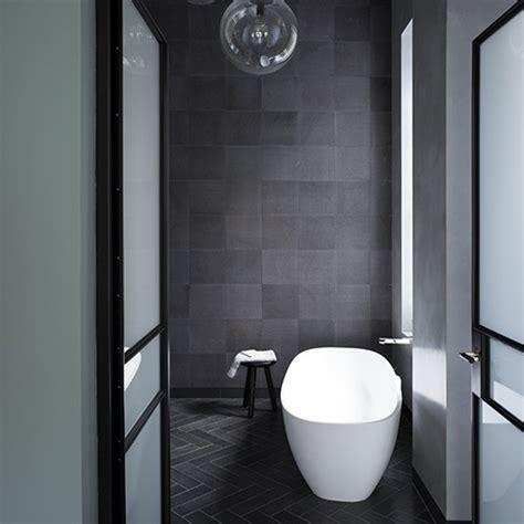 charcoal tiled bathroom grey bathroom ideas to inspire