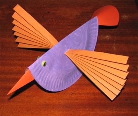 paper plate bird craft paper plate crafts for a z