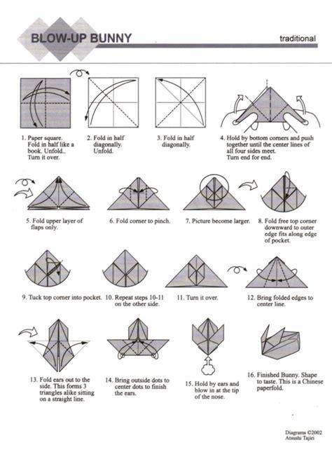 origami up bunny oziahz